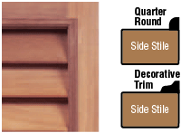 Larson Shutter Company | Decorative Trim Moulding