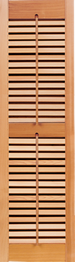 Southern Shutter Company | Heavy Duty  Fixed Louver Shutter False Control Rods