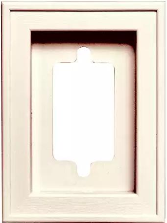 Recessed mini 10 box larson shutter company for Recessed panel shutters