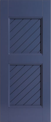 Composite Shutters New Horizon Solid PVC Shutters