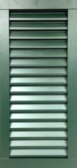 Aluminum shutters for exterior house windows larson shutter for Exterior louvered window shutters