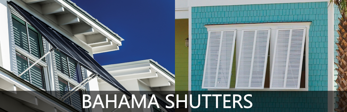Aluminum Bahama Shutters Exterior | Bahama Shutters for Sale