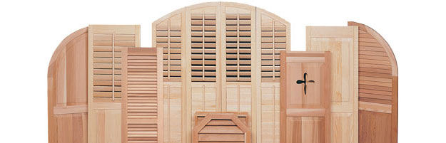 Premium Mortise And Tenon Joinery Custom Exterior Cedar Shutters