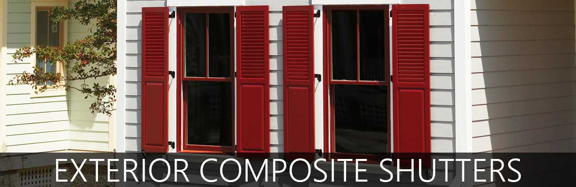Exterior Shutters for Windows   Composite Shutters