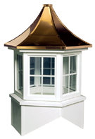 Davenport Windowed Cupola Hexagon Base Pagoda Roof