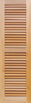 how to make fixed louver shutters