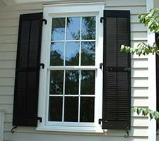 Exterior Shutter Hardware Functional Decorative Larson