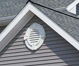 Attic Gable Vents House Siding Materials Larson Shutter