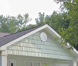 vinyl gable vents | mid-america gable vents | larson shutter