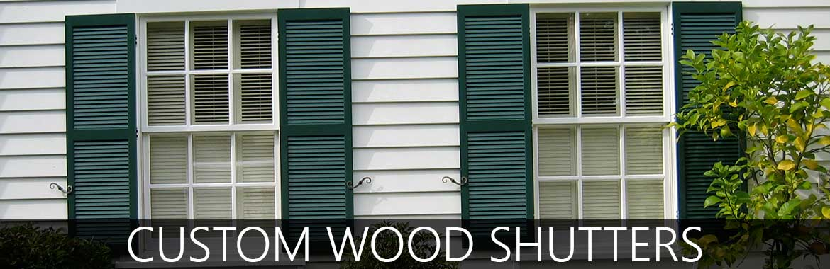 Custom Exterior Wood Shutters For Your Home