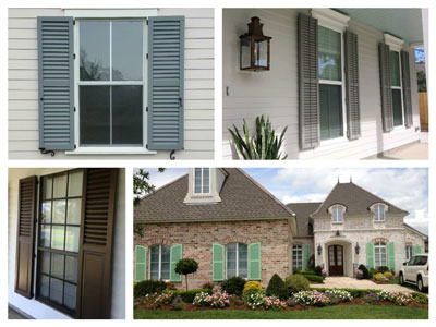 aluminum louvered shutters shutters for exterior windows