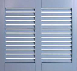 posite Shutters New Horizon Solid PVC Shutters