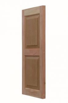 Redwood Shutters | Wood Exterior Shutters | Larson Shutter