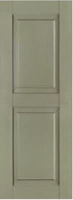Vinyl raised panel shutters custom vinyl shutters exterior for Custom made exterior vinyl shutters