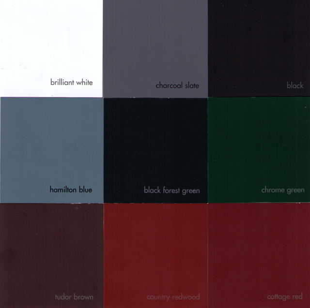 Rockbridge Composite Shutter Paint Color Selection